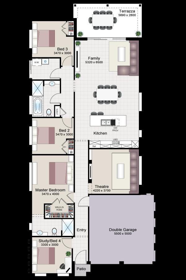 Chianti Slim Four - Beechwood Homes