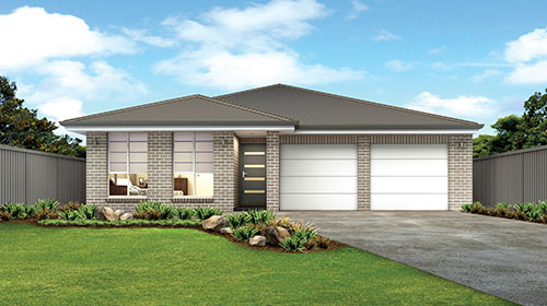 Single storey homes mudgee home builders for Classic house facades