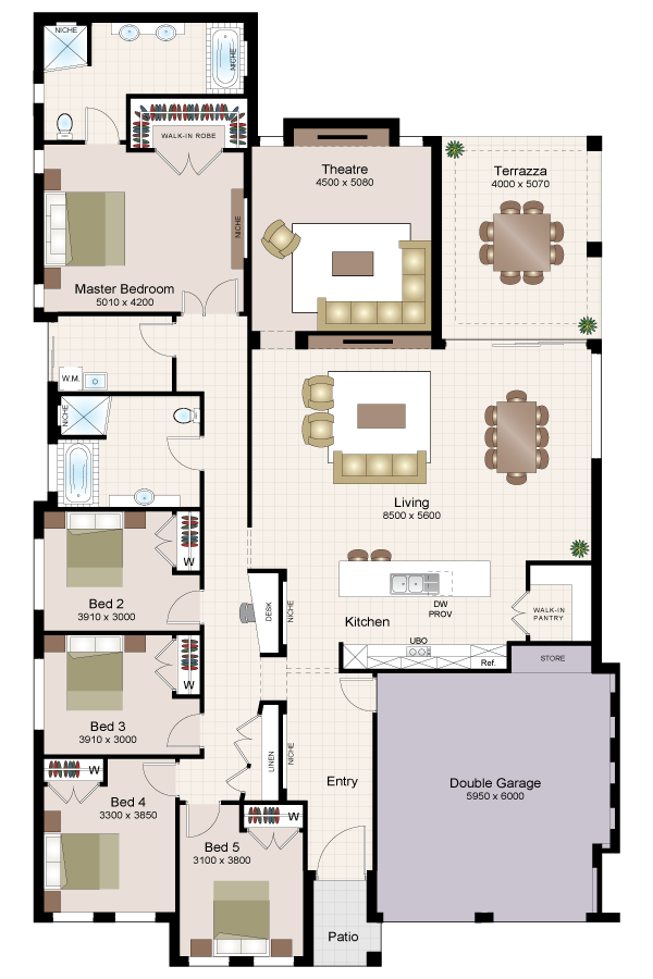 Asquith thirty three beechwood homes for Beechwood home designs