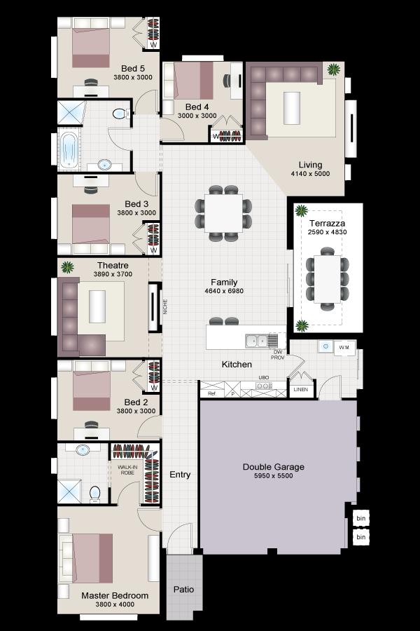 Merlot five beechwood homes for Beechwood home designs