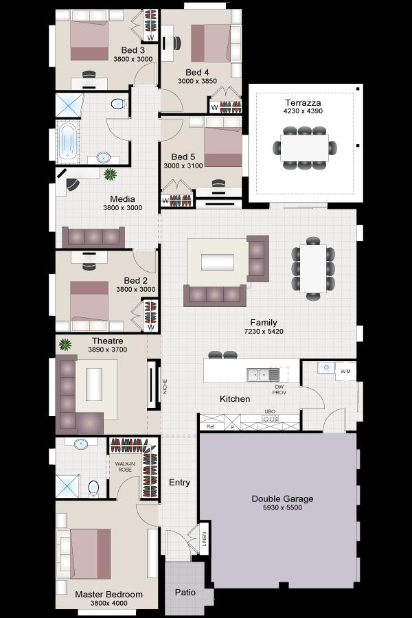 Verdelho five beechwood homes for Beechwood home designs