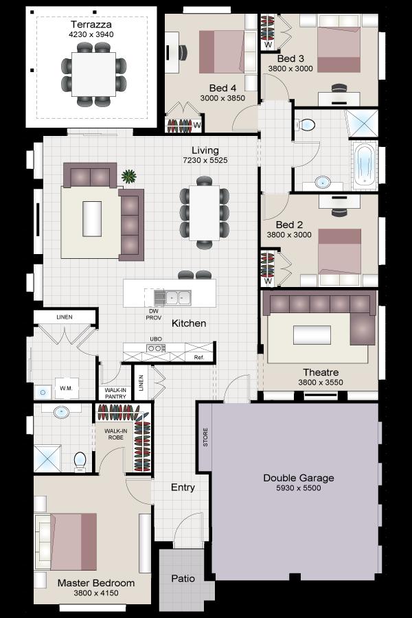 Verdelho four twist beechwood homes for Beechwood home designs